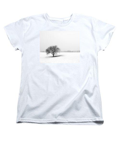 Alone Women's T-Shirt (Standard Cut) by Don Spenner