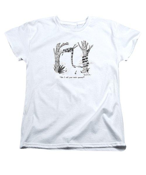 Am I Still Your Main Squeeze? Women's T-Shirt (Standard Cut) by Leo Cullum