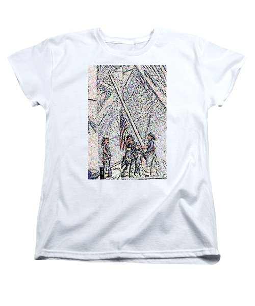 American Spirit Women's T-Shirt (Standard Cut) by Alys Caviness-Gober