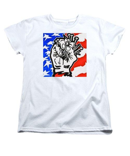 The Price Of Liberty Women's T-Shirt (Standard Cut) by Yelena Tylkina
