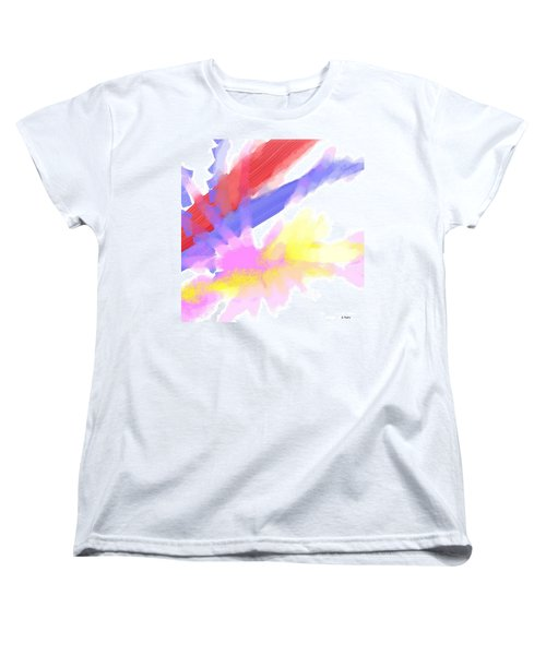 American Sunrise Women's T-Shirt (Standard Cut) by George Pedro