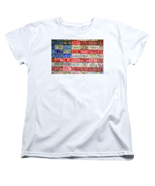 American Transportation Women's T-Shirt (Standard Cut) by Steven Bateson
