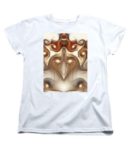 Ancient Carving Women's T-Shirt (Standard Cut) by Svetlana Nikolova