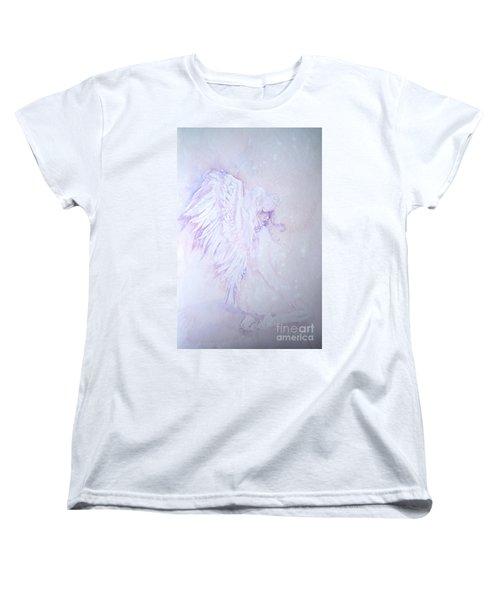 Angel Women's T-Shirt (Standard Cut) by Sandra Phryce-Jones