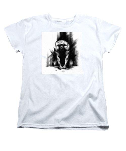 Anger Women's T-Shirt (Standard Cut) by Paul Davenport