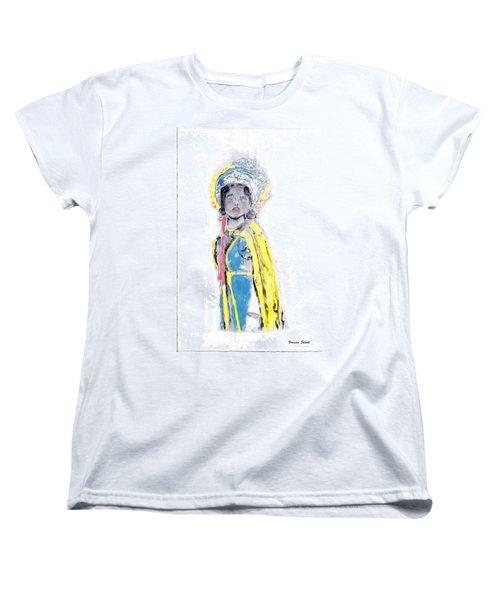 Another Time Monoprint Women's T-Shirt (Standard Cut) by Verana Stark