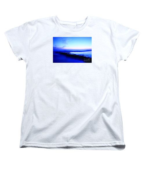 Women's T-Shirt (Standard Cut) featuring the photograph Swamis Aqua Reef  by John F Tsumas