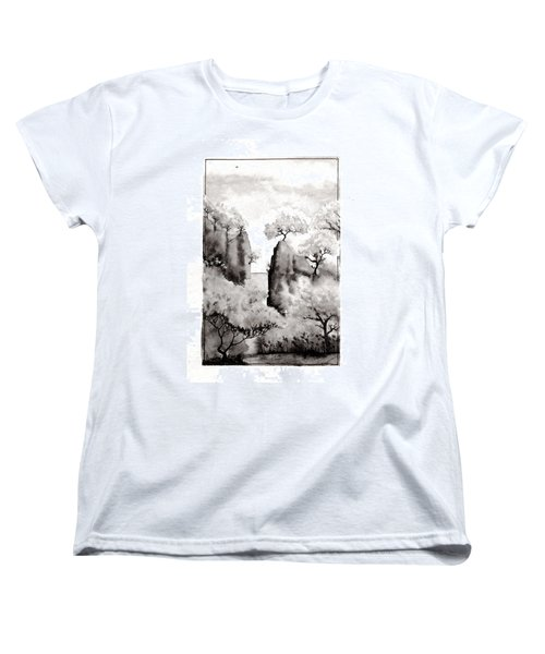 Arbres Separes Women's T-Shirt (Standard Cut)