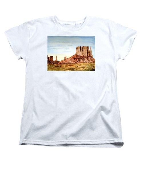 Arizona Monuments 2 Women's T-Shirt (Standard Cut) by Maris Sherwood
