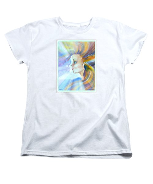 Women's T-Shirt (Standard Cut) featuring the painting Artemis by Leanne Seymour