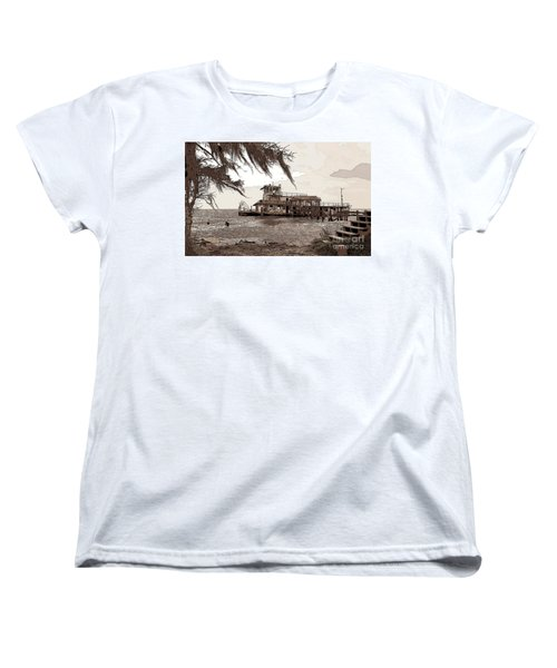 Tugboat From Louisiana Katrina Women's T-Shirt (Standard Cut) by Luana K Perez
