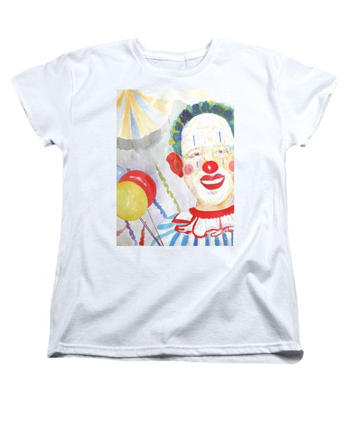 Women's T-Shirt (Standard Cut) featuring the painting At The Circus by Sandy McIntire