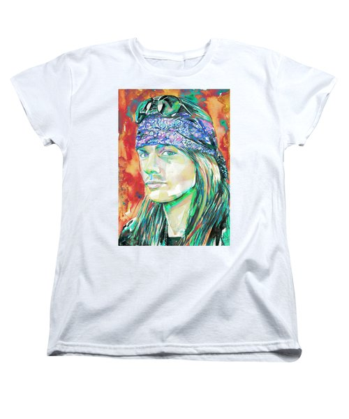 Axl Rose Portrait.2 Women's T-Shirt (Standard Cut)