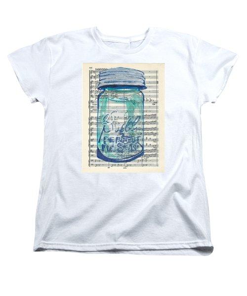 Ball Jar Classical  #132 Women's T-Shirt (Standard Cut) by Ecinja Art Works