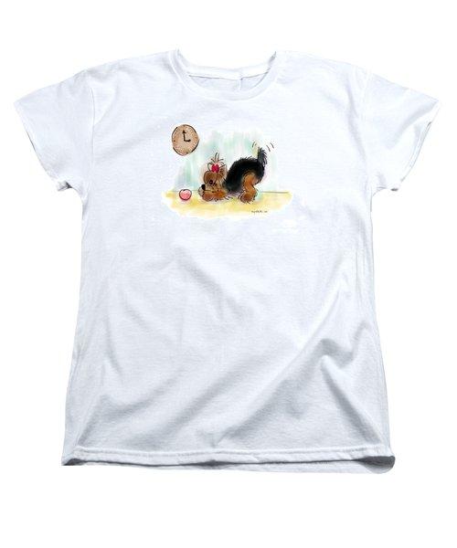 Ball Time Women's T-Shirt (Standard Cut) by Catia Cho