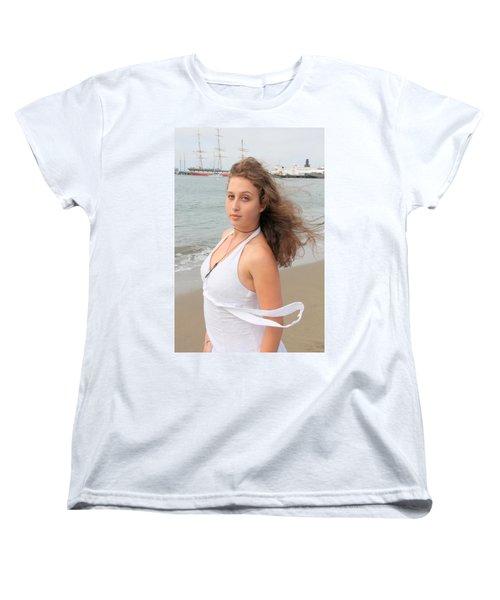 Ballad Women's T-Shirt (Standard Cut) by Nick David