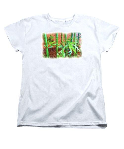 Bamboo #1 Women's T-Shirt (Standard Cut) by Luther Fine Art