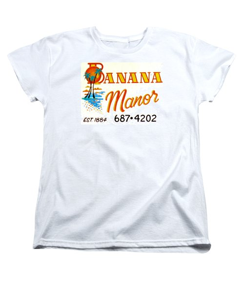 Banana Manor Women's T-Shirt (Standard Cut)