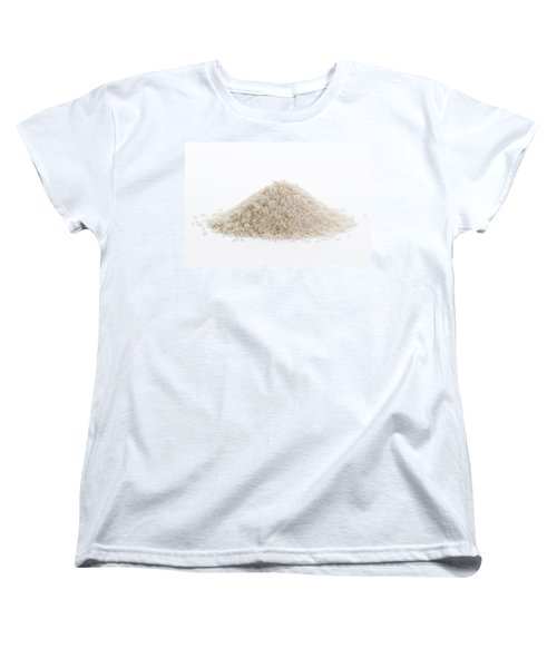 Women's T-Shirt (Standard Cut) featuring the photograph Basmati Rice by Lee Avison