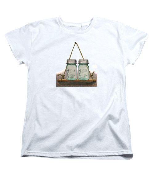Balls To The Wall Women's T-Shirt (Standard Cut) by Ferrel Cordle