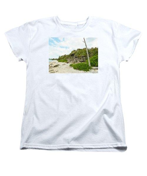 Women's T-Shirt (Standard Cut) featuring the photograph Bat Cave by Amar Sheow