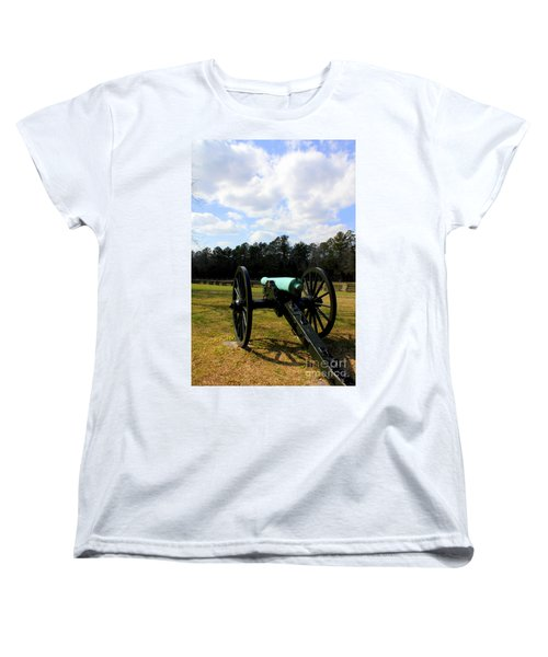 Battlegrounds Of Chattanooga Women's T-Shirt (Standard Cut) by Kathy  White