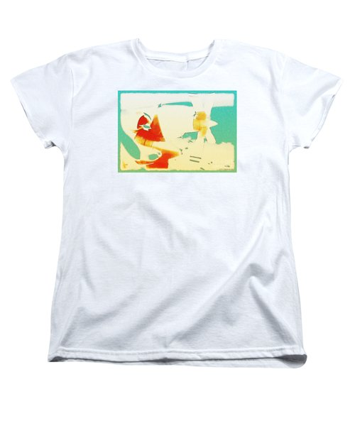 Women's T-Shirt (Standard Cut) featuring the photograph Fixed Wing Aircraft Poster by R Muirhead Art