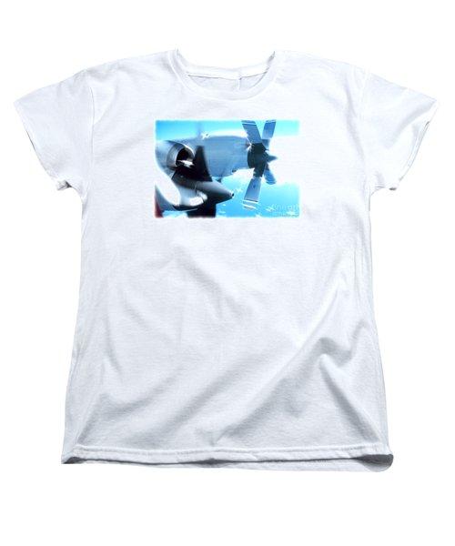 Women's T-Shirt (Standard Cut) featuring the photograph Beautiful Fixed Wing Aircraft by R Muirhead Art