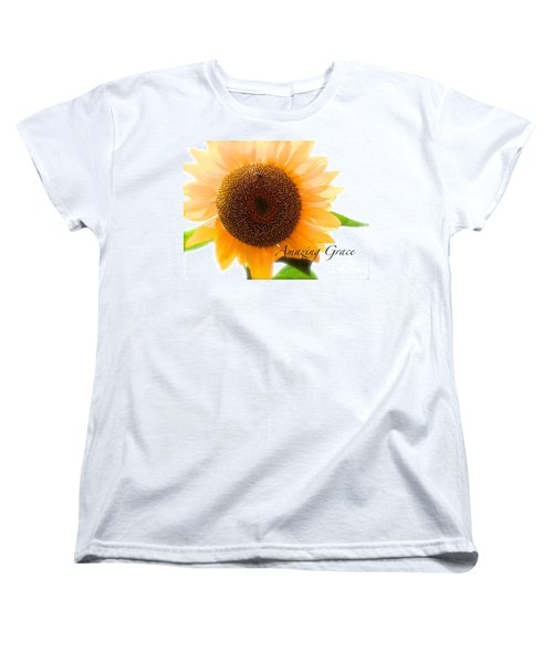 Women's T-Shirt (Standard Cut) featuring the photograph Bee Still by Margie Amberge