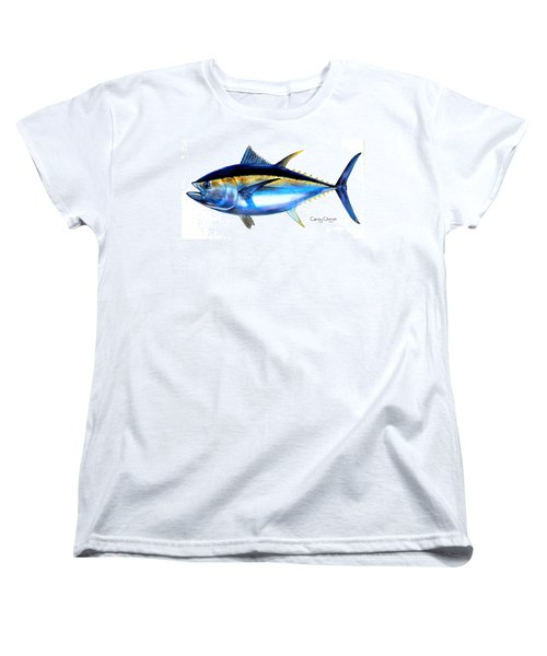 Big Eye Tuna Women's T-Shirt (Standard Cut) by Carey Chen