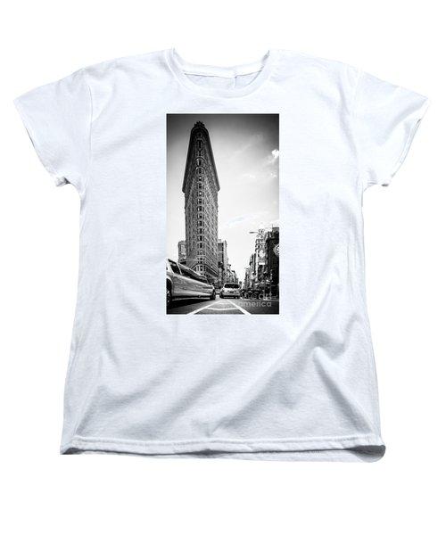 Big In The Big Apple - Bw Women's T-Shirt (Standard Cut) by Hannes Cmarits