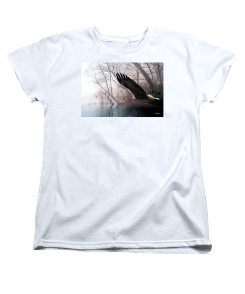 Bilbow's Eagle Women's T-Shirt (Standard Cut) by Bill Stephens