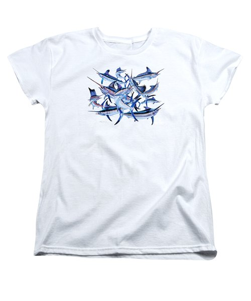 Bills Off0044 Women's T-Shirt (Standard Cut) by Carey Chen