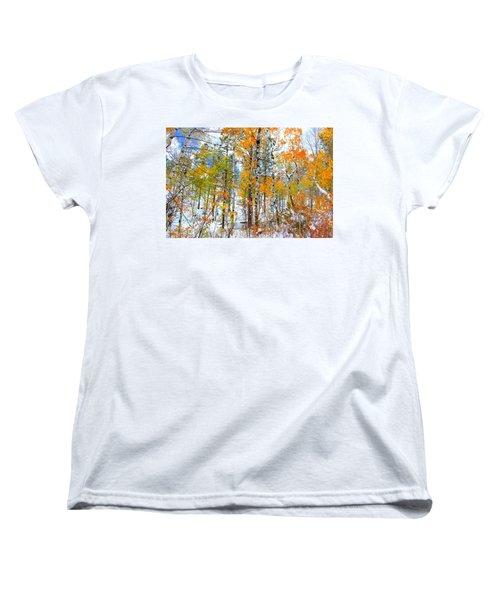 Black Hills Veil  Women's T-Shirt (Standard Cut) by Clarice  Lakota