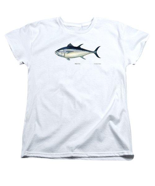 Bluefin Tuna Women's T-Shirt (Standard Cut) by Charles Harden