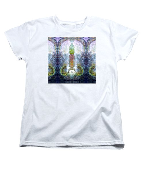 Women's T-Shirt (Standard Cut) featuring the digital art Bogomil Variation 13 by Otto Rapp