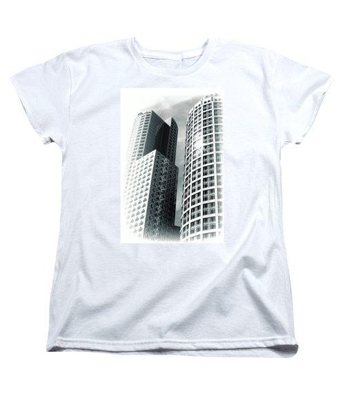Boston Architecture Women's T-Shirt (Standard Cut) by Fred Larson
