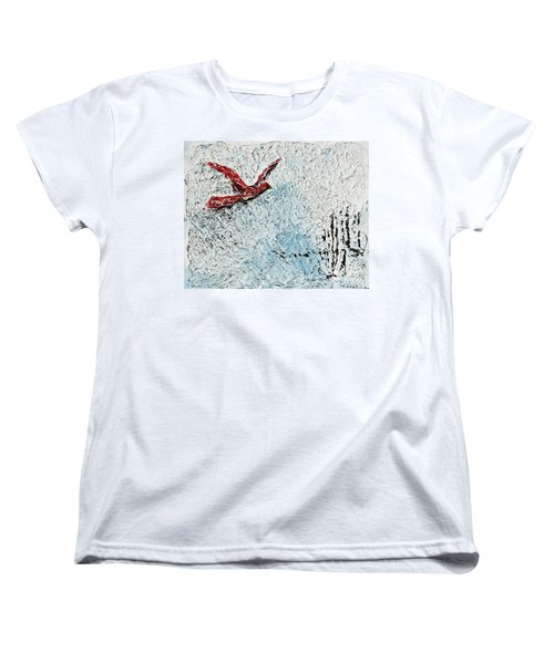 Bound To Fly Women's T-Shirt (Standard Cut) by Alys Caviness-Gober