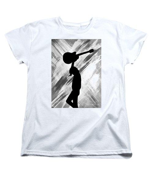 Brandi Carlile Living The Dream Women's T-Shirt (Standard Cut) by Alys Caviness-Gober