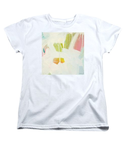 Women's T-Shirt (Standard Cut) featuring the painting Breakwater  C2013 by Paul Ashby