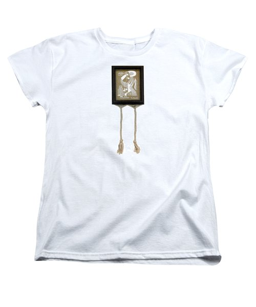 Women's T-Shirt (Standard Cut) featuring the painting Breeze by Fei A