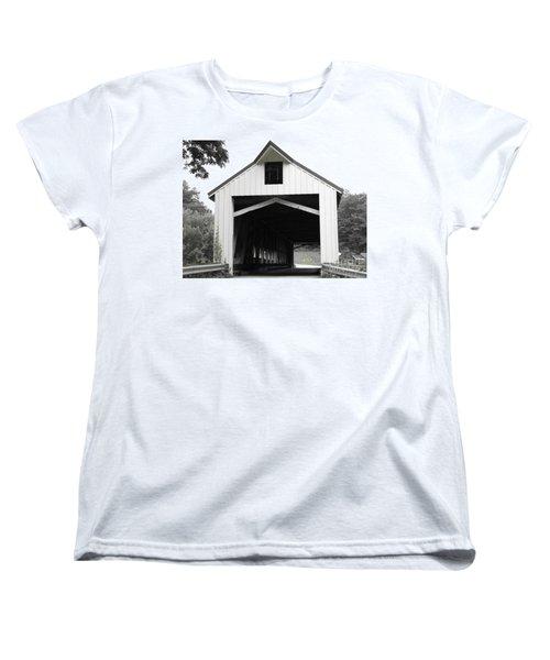 Bridge Over Troubled Waters Women's T-Shirt (Standard Cut) by Michael Krek