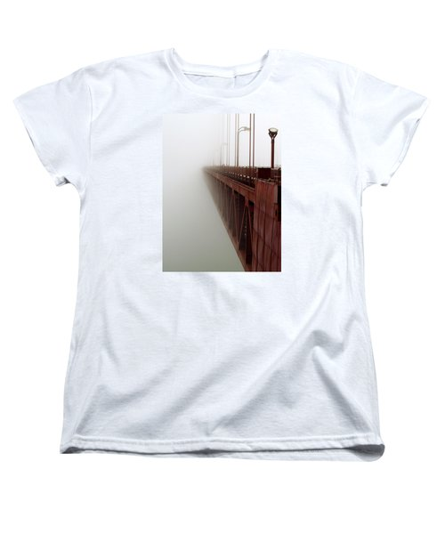 Bridge To Obscurity Women's T-Shirt (Standard Cut) by Bill Gallagher
