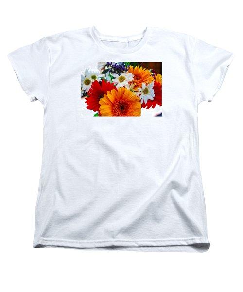 Bright Women's T-Shirt (Standard Cut) by Angela J Wright