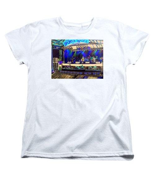 Broadband At The Broken Spoke Saloon Women's T-Shirt (Standard Cut) by Albert Puskaric