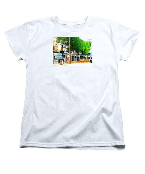 Broadway Oyster Bar With A Boost Women's T-Shirt (Standard Cut)