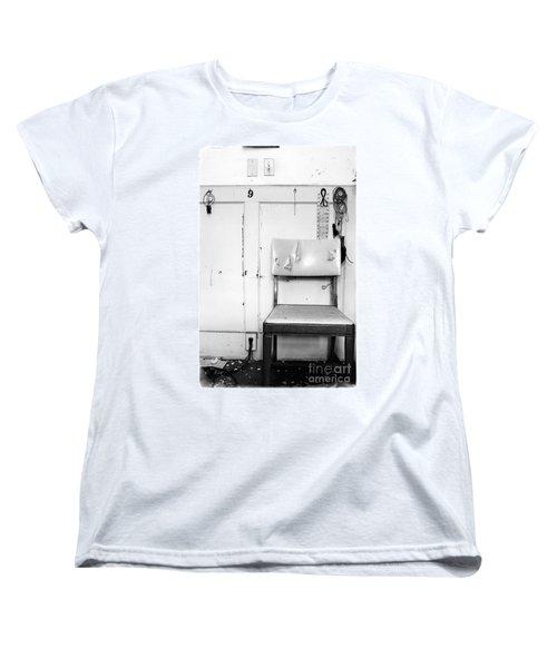Women's T-Shirt (Standard Cut) featuring the photograph Broken Chair by Carsten Reisinger