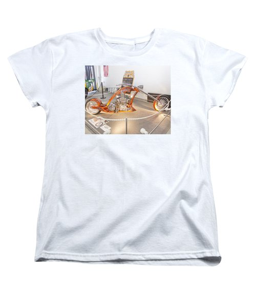Bronze Beauty Women's T-Shirt (Standard Cut) by Mustafa Abdullah