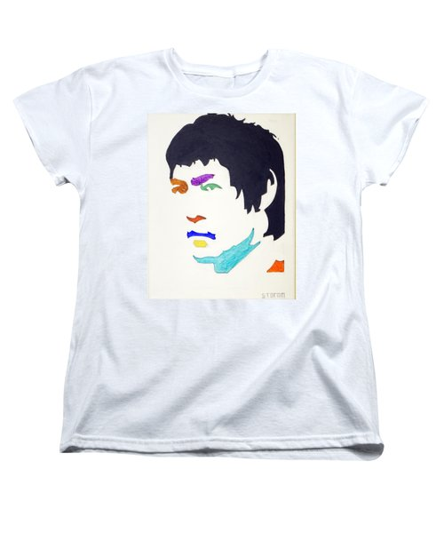 Women's T-Shirt (Standard Cut) featuring the  Bruce Lee by Stormm Bradshaw