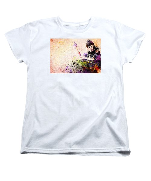 Bruce Springsteen Splats 2 Women's T-Shirt (Standard Cut) by Bekim Art